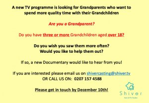 Calling Grandparents With Adult Grandchildren